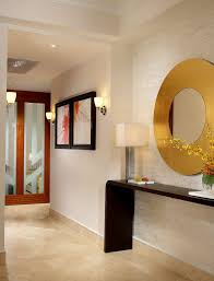 Zen Interiors Zen Interiors Hall Modern With Beige Tile Wall Damp Wet Listed