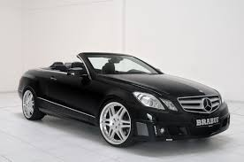 mercedes convertible world concept cars brabus does the new mercedes benz e class