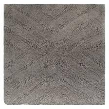 textured stripe square bath rugs nate berkus target