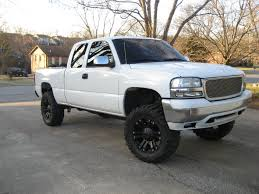 lifted white gmc 2001 gmc sierra 1500 partsopen