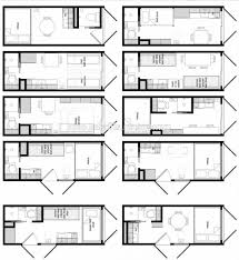Shipping Container Bunker Floor Plans by Shipping Container Layout Container House Design