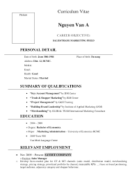 Example Resume Sales by Sample Resume Sales English
