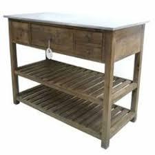 table console cuisine meuble console drapier bois 2 tiroirs 190x54x87cm salle de bain