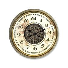 Melrose Home Decor Wall Clock Gear Wall Art Home Decor Steampunk Gear Art On