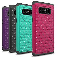 samsung galaxy note 8 bling case aurora series coveron cases
