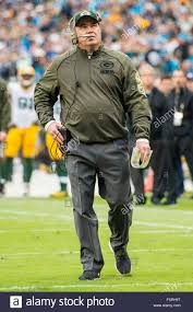Flag Football Charlotte Nc Green Bay Packers Head Coach Mike Mccarthy During The Nfl Football