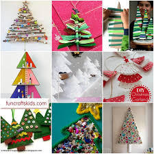 Kid Crafts For Christmas - 12 christmas tree crafts fun crafts kids