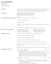 Resume Samples For Maintenance Worker by Installation Maintenance And Repair Resume Samples