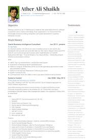 Sample Resume For Qa Tester by Etl Resume Topbusiness Intelligence Manager Resume Samples