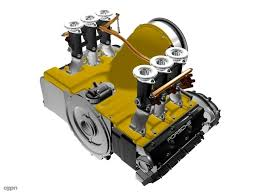 engine porsche 911 porsche 911 engine 3d model cgstudio