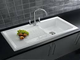 How To Clean White Porcelain Kitchen Sink Porcelain Kitchen Sink Babca Club