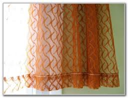 Burnt Orange Kitchen Curtains by Burnt Orange Kitchen Curtains Curtains Home Design Ideas