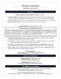 Credit Controller Resume Sample by Cfo Resume Examples Chief Financial Officer Resume Sample Chief