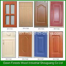 mdf kitchen cabinet doors china pvc membrane mdf kitchen cabinet door customized design