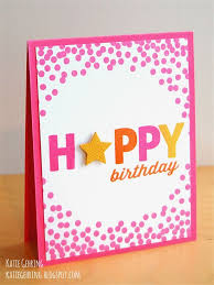 415 best stamping birthday cards images on pinterest birthday