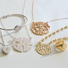 Monogram Locket Necklace Monogram Pearl Necklace Pbteen