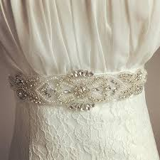 wedding sashes and belts 2018 xw 54 5 5cm width sparkle handmade satin pearls
