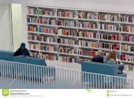 stuttgart city library stuttgart studying in the public library editorial image image