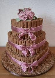 www scrumptiouscakes co uk 1095 4 tier chocolate flake wedding
