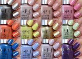 swatch sunday opi infinite shine summer 2015 collection