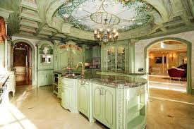 classic kitchen colors oat color scheme with green pastels for modern kitchen design and