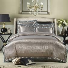 Wholesale Bed Linens - wholesale bed linens luxurious 4pcs full queen king gray green