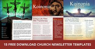 15 free church newsletter templates ms word publisher designyep