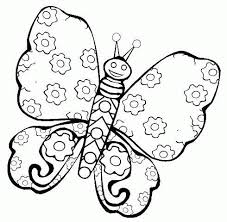 butterfly coloring pages photography free printable butterfly