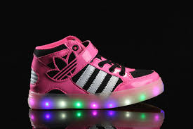 Kids Light Up Shoes Adidas Light Up Shoes For Kids Multicolored Led Lighting 2017