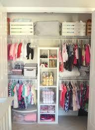 Wardrobe Organization The 25 Best Nursery Closet Organization Ideas On Pinterest Baby