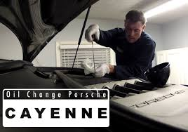 how to change oil filter porsche cayenne 3 2 liter v6 with