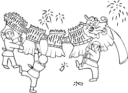 chinese coloring page new year celebration colouring 460 0 jpg