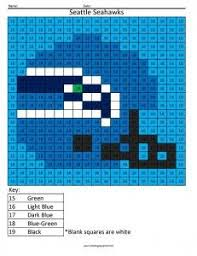 miami dolphins color by number perler bead patterns pinterest