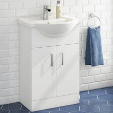 Bathroom Furniture Freestanding Bathroom Furniture Cabinets Free Standing Diy At B Q Inside Sink