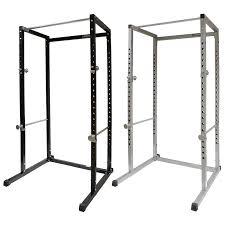 mirafit power cage squat rack u0026 pull up bar multi gym bench press