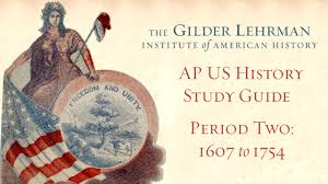 ap us history study guide period 2 1607 to 1754 on vimeo
