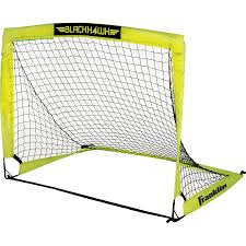 amazon com franklin blackhawk portable soccer goal small