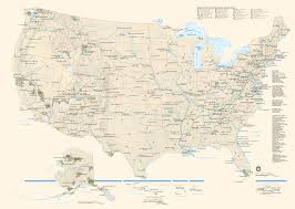 Usa Map With Abbreviations by Download Map Usa National Parks Major Tourist Attractions Maps