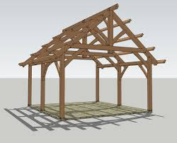 pavilion plans timber frame hq