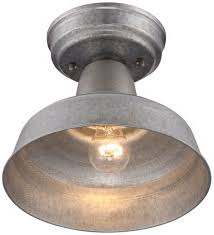 Dusk To Dawn Outdoor Ceiling Light by Galvanized Outdoor Light Sacharoff Decoration