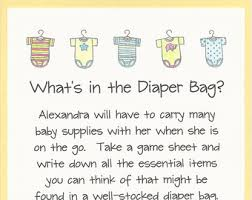 what s in the bag baby shower what s in your purse baby shower easy baby shower
