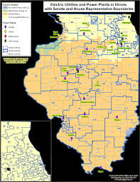 Il Map Electric Utilities In Illinois Map Illinois Energy Association