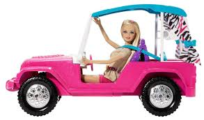 toy jeep car amazon com barbie sisters safari cruiser toys u0026 games