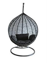 Patio Egg Chair Rattan Swing Chair Outdoor Garden Patio Hanging Wicker Weave