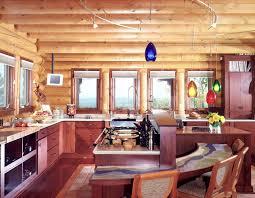 lovable kitchen log home kitchen design wood shavings c a design