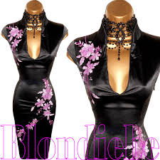 norman dresses exquisite black pink style bodycon dress by