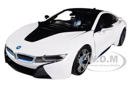 bmw model car i8 white 1 24 diecast model car rastar 56500