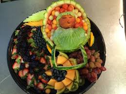 fantastic ideas for baby shower fruit tray for baby shower ideas