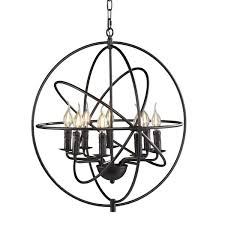 Atomic Chandelier Evan Atomic 8 Light Foyer Pendant U0026 Reviews Joss U0026 Main