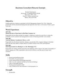 Resume Samples In Usa by Business Consultant Resume Sample 22 Business Consultant Resume